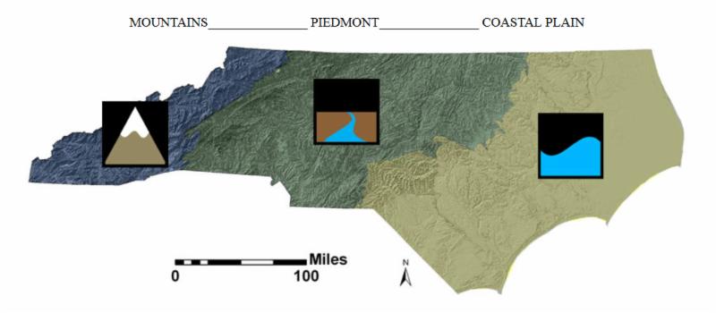 NC Geologic Regions