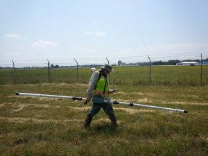 EM31, conductivity, buried waste