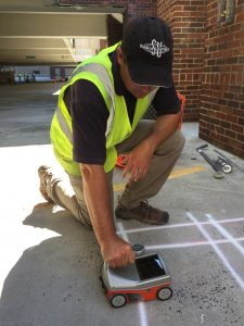 rebar, GPR for rebar, concrete inspection