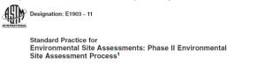 ASTM Phase II Standard E1903-11
