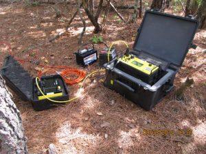 electrical resistivity survey