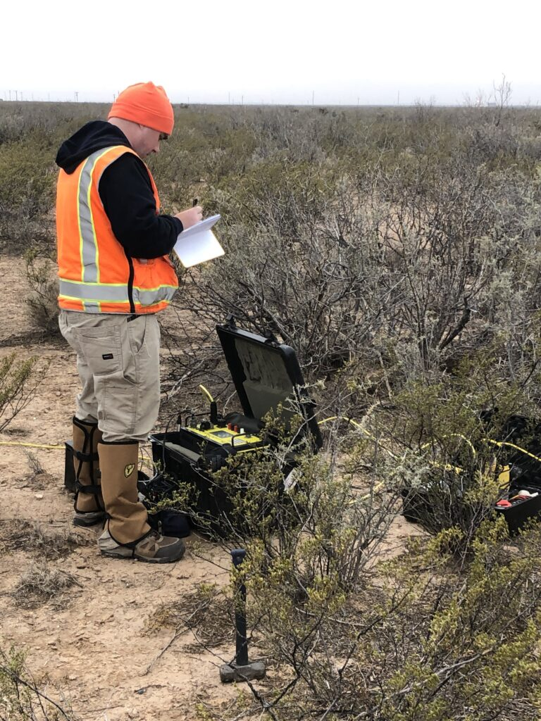 Resistivity data collection