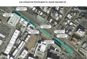 MASW Transect Locations